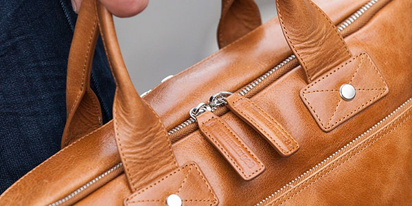 Leather goods Zipper
