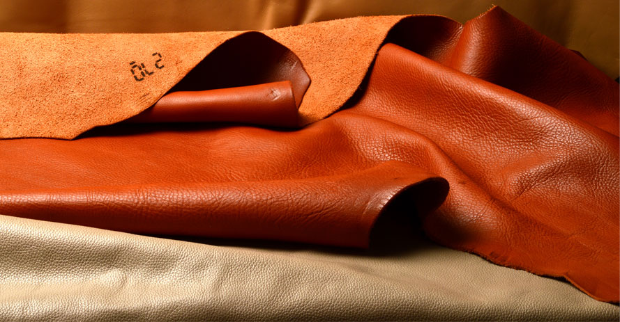 A leather material