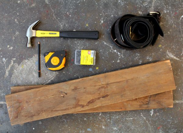 the material and tools