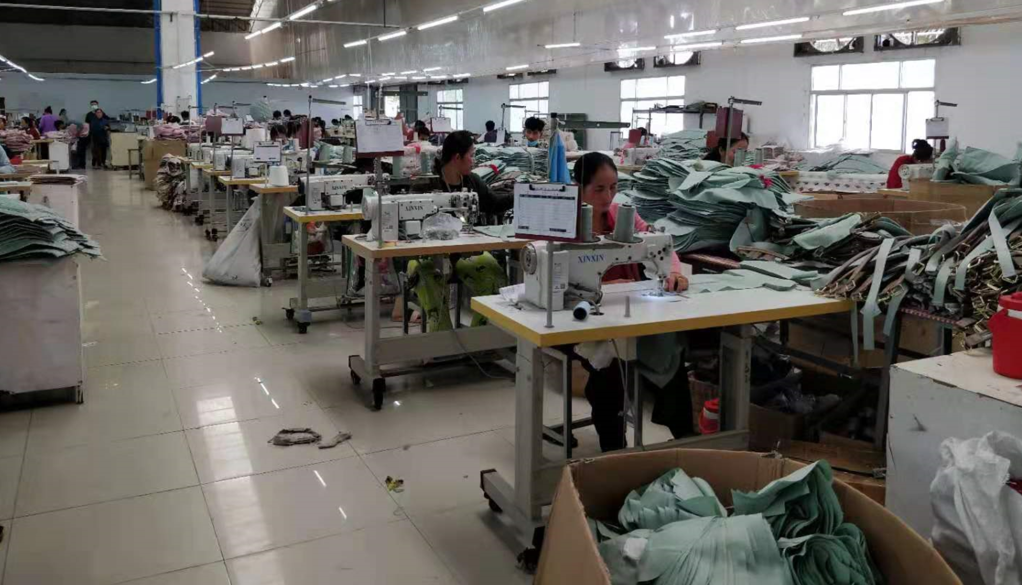 Cambodia Handbag Factory Workshop