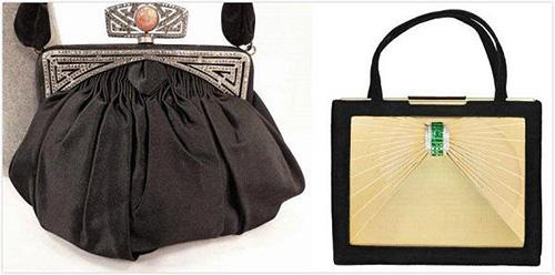 Evening handbag design of the 1830s