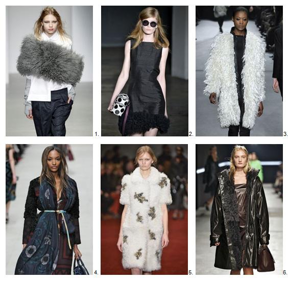 London fashion trends #5 - Curly lamb
