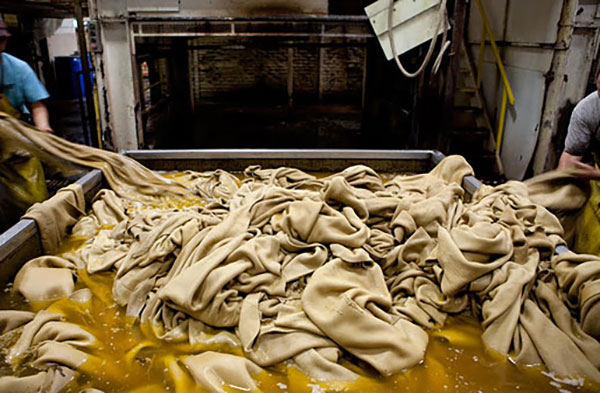 Tanning leather process