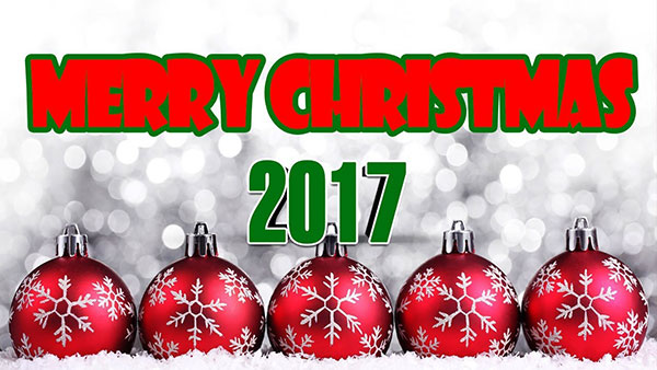 Merry Christmas in 2017