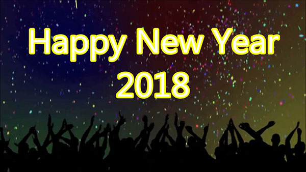 Happy New Year in 2018