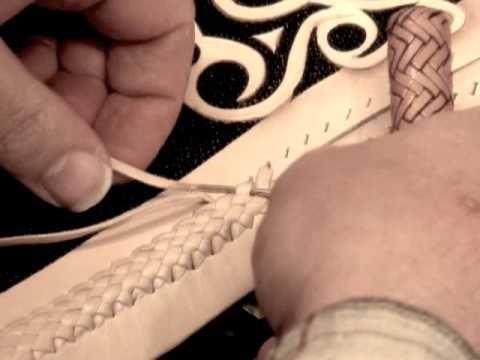 braided leather Technique Tutorial