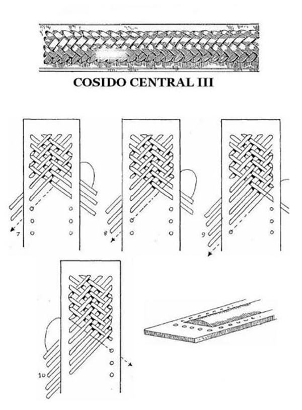 Thirteenth Method of Leather Weaving(2)