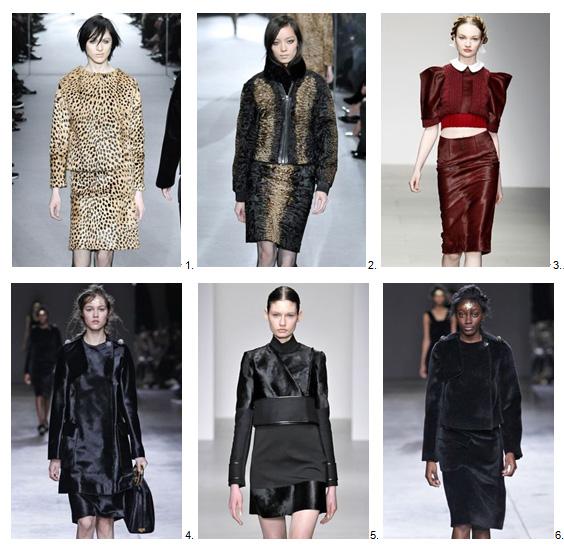 London fashion trends #8 - piece of fur