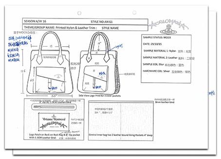 Vivienne Westwood Design Draft