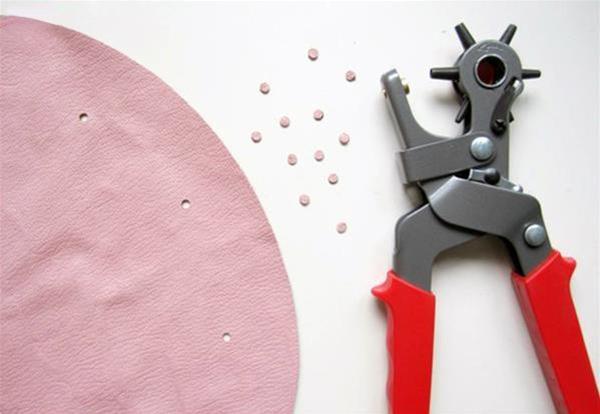 Punching holes