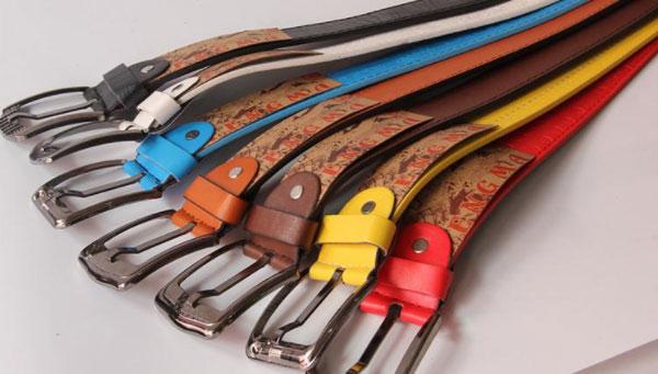 Different color belts