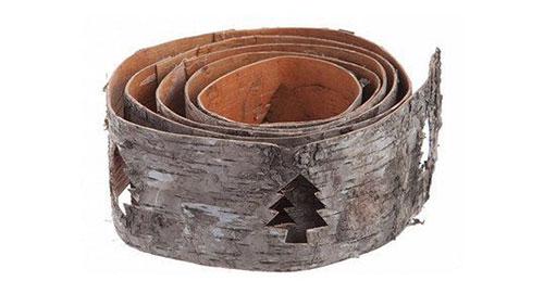 Tree bark belt