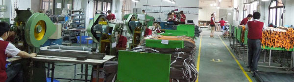 the factory plant of J.D. Leather Goods.