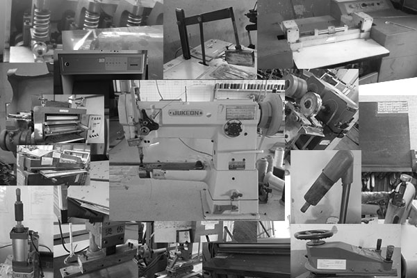 machines in factory production