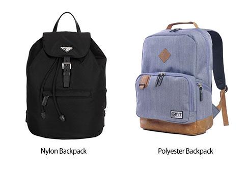 Nylon vs. Polyester in Backpack