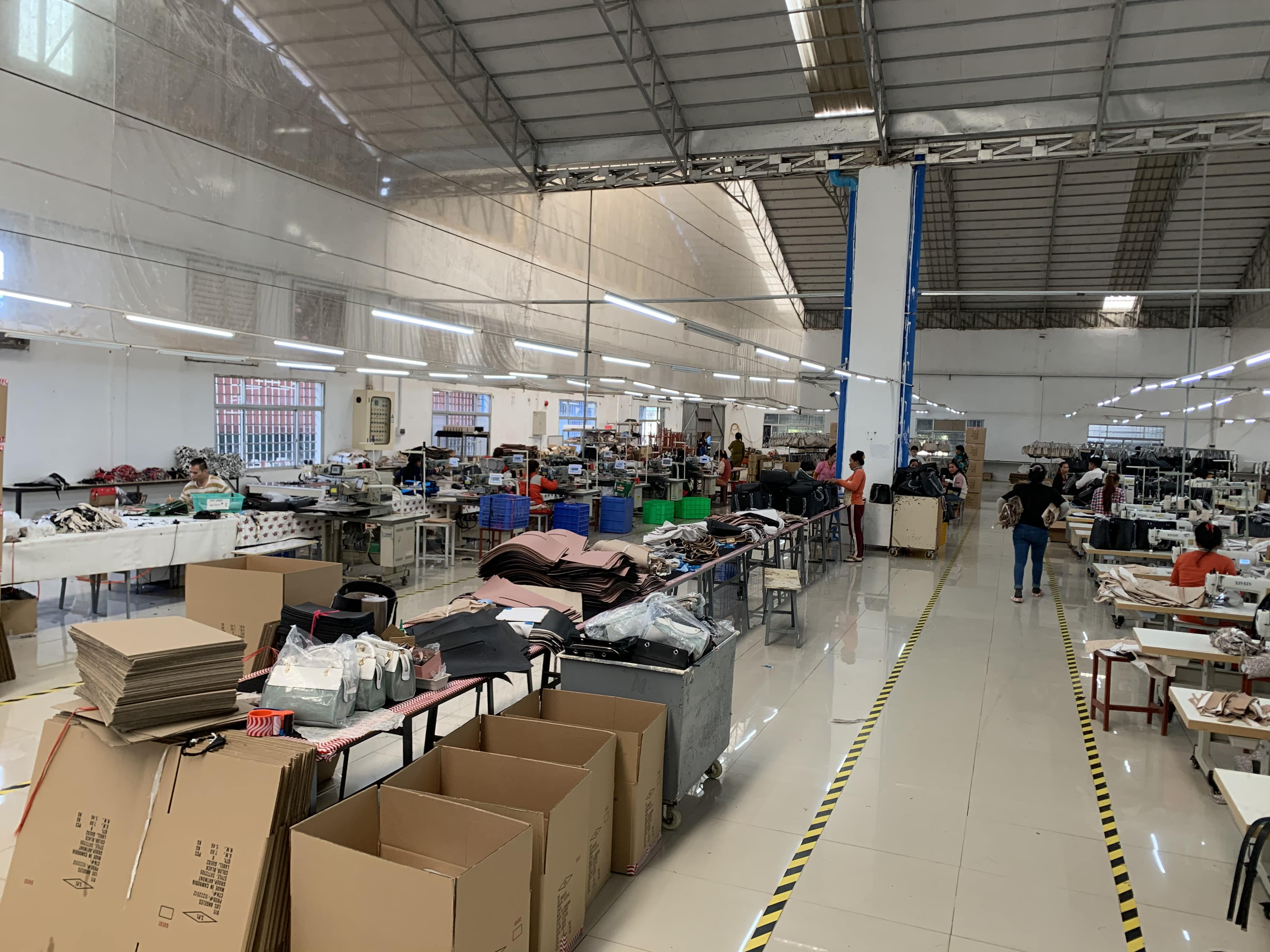 J.d. Leather Goods Factory Resumes Work And Production