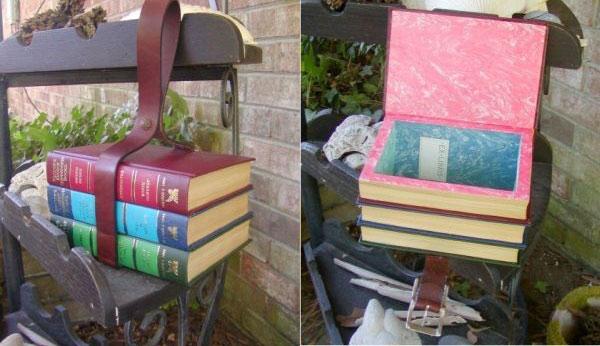 Bind the books